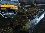 Marine Corps locate sunken amphibious assault vehicle with human remains on board