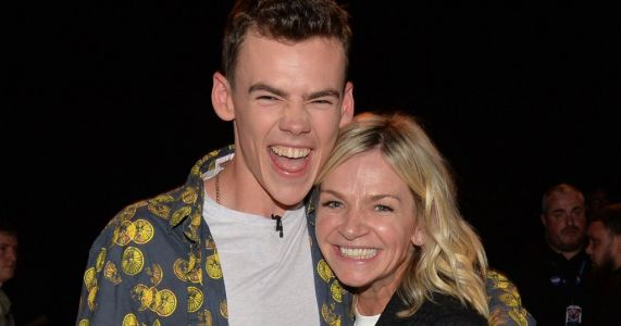 When was Zoe Ball's son Woody Cook in The Circle and did he win?
