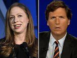 Outrage as Chelsea Clinton calls on Facebook to ban Tucker Carlson
