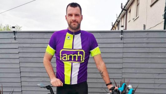 Ballyclare man on his bike to boost mental health charity funds