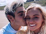 Love Island's Lucie Donlan and Luke Mabbott confirm their relationship with loved-up snaps at the seaside