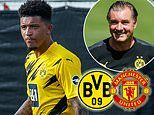 Jadon Sancho 'is being urged to publicly confirm he wants to STAY at Borussia Dortmund'