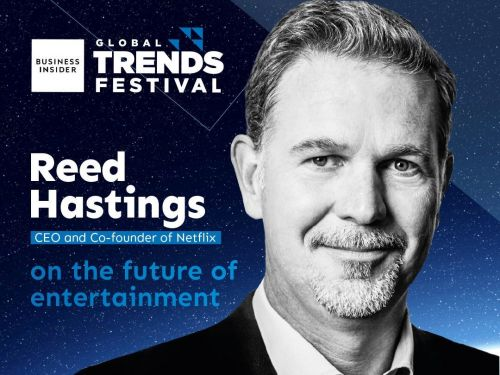 Reed Hastings to speak at the Business Insider Global Trends Festival