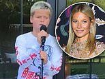 Gwyneth Paltrow celebrates son Moses' 14th birthday pic of him playing music with dad Chris Martin