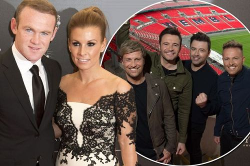 Westlife giving Wayne and Coleen Rooney VIP treatment 12 years after singing at wedding