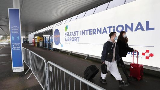 International travellers must isolate on arrival in NI as travel corridor scrapped