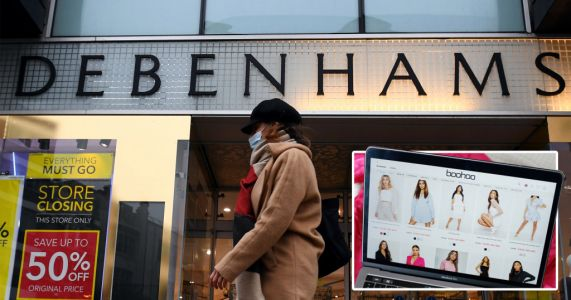 Boohoo buys Debenhams for £55,000,000 and will relaunch online only