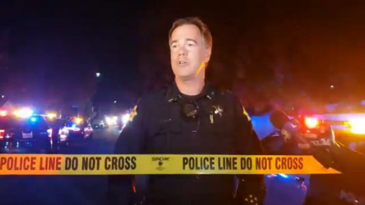 4 dead, 6 injured after unknown shooter opened fire at a backyard football watch party in Fresno, California