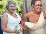 Woman who was abused by stepfather drops a whopping seven dress sizes