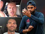Flintoff, Anderson and Co wish England luck as Eoin Morgan's men prepare for Cricket World Cup final