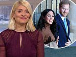 Holly Willoughby baffles This Morning viewers as she CRIES over montage of Harry and Meghan