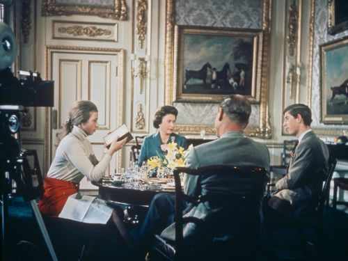 15 photos from the controversial documentary about the British royal family that aired in 1969 and was never seen again