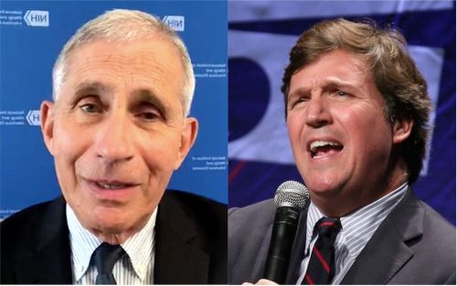 Fauci slammed Tucker Carlson, saying he 'triggers some of the crazies' to attack him and that it's 'ridiculous' that he needs personal security to protect him
