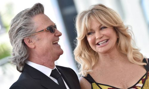 Inside Goldie Hawn and Kurt Russell's stylish living room in LA