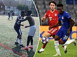 Chelsea star Callum Hudson-Odoi plays in Sunday league match just 12 HOURS after Champions League
