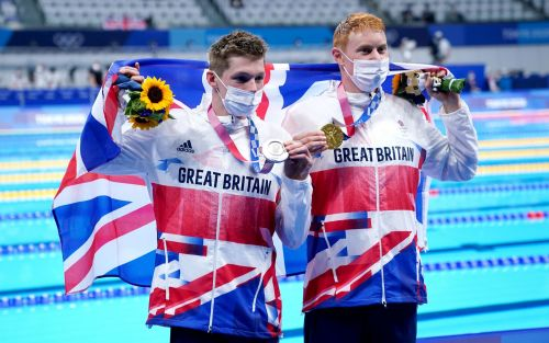 Tom Dean and Duncan Scott claim historic one-two finish for Team GB in men's 200m freestyle final