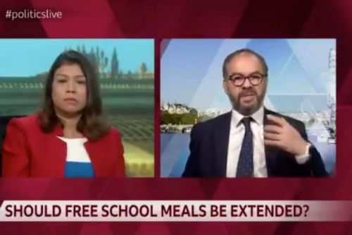 Tory refuses to back free meals saying kids have 'been going hungry for years'