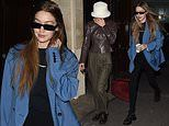 Gigi Hadid joins low-key Bella ahead of Lanvin's Fashion Week Men's show in Paris