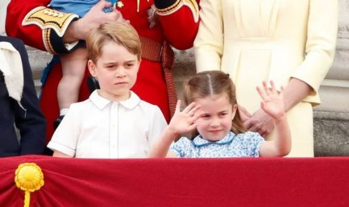Prince George and Princess Charlotte keep Queen entertained during lockdown in sweet way