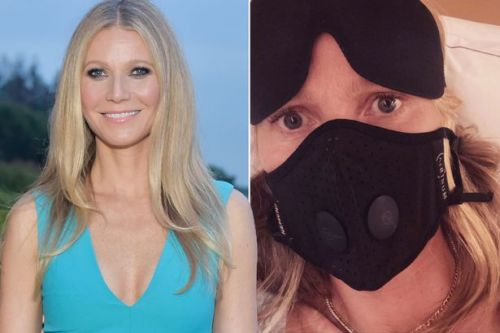 Gwyneth Paltrow jokes about Contagion as she debuts mask on flight amid coronavirus fears