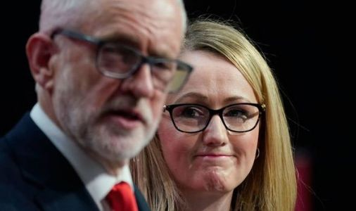 Corbyn hints he will back Long-Bailey for Labour leader at lefty event - 'Our candidate!'