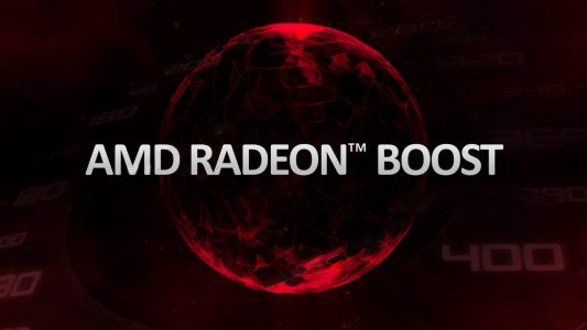 AMD Radeon Boost - faster gaming performance at the click of a button