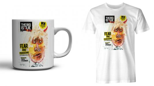 Why Ralph Steadman wanted to make Boris Johnson into a Big Issue cover star