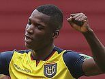 Ecuador starlet Moises Caicedo 'will fly to England to complete his £4.5m move to Brighton today'