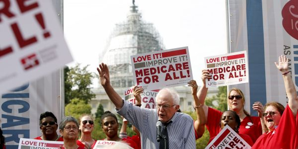 Medicare for All supporters just locked down a huge endorsement within the healthcare industry