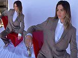 Amelia Gray Hamlin dons business suit in photoshoot after returning from Miami with Scott Disick
