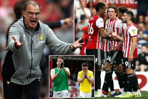 Leeds falter in promotion race as Marcelo Bielsa's men lose at Brentford