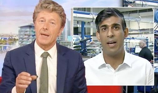 Charlie Stayt cuts off Rishi Sunak in furlough row: 'It's not speculation is it?'