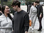 Marnie Simpson looks loved-up with beau Casey Johnson during lavish shopping trip in London
