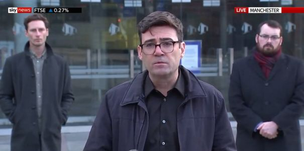 Andy Burnham says Manchester will suffer 'winter of hardship' in tier 3 lockdown