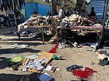 At least 28 dead, 73 wounded as two bombs strike market in Baghdad