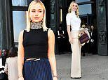 Lady Kitty Spencer and Lady Amelia Windsor look glamorous at PFW
