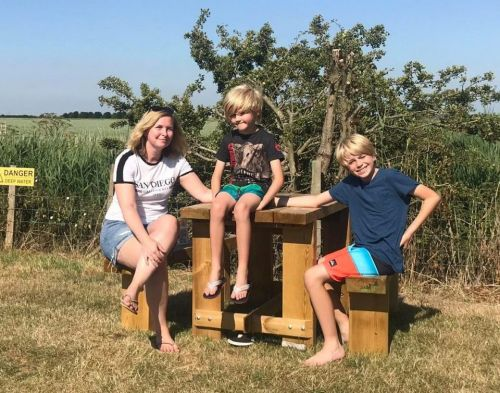 From luxurious yurts to log cabins, three members of the Fabulous team get back to nature with kid-friendly English breaks