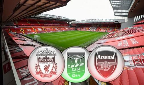 Liverpool vs Arsenal LIVE: Confirmed team news and Carabao Cup updates from Anfield