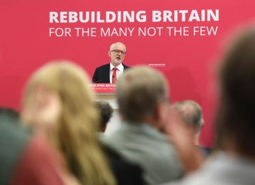 No-Deal Brexit Is A 'Trump-Deal Brexit', Says Jeremy Corbyn