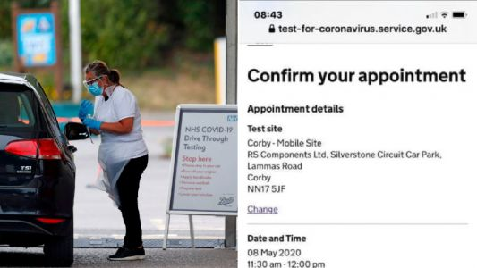 Key worker sent to wrong address for testing after NHS error