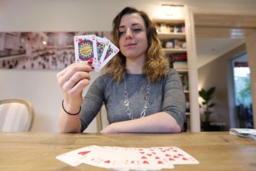 Woman creates genderless pack of playing cards - so king can't trump queen