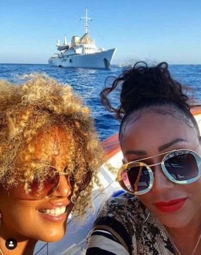 Mel B at centre of stalking riddle as former husband Stephen Belafonte follows her on holiday to Capri