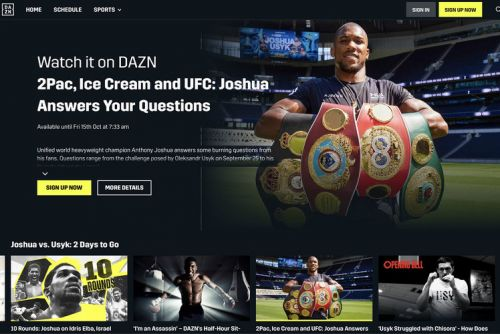 What is DAZN, what can I watch, and everything you need to know about the sports streaming service