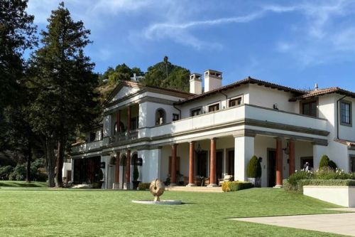 Inside Sylvester Stallone's 8 bedroom and 12 bathroom mansion as it hits market