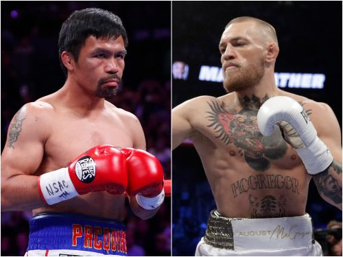 Manny Pacquiao's manager says Conor McGregor knows where to go if he wants a 'proper fight' after UFC 246