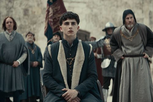 When is Timothée Chalamet's The King released on Netflix? Who else is in the cast? Is there a trailer?