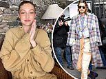 Gigi Hadid credits 'really baggy' clothing and good angles for helping hide her burgeoning baby bump