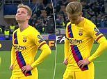 Frenkie de Jong finds out old club Ajax are out of the Champions League