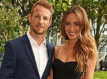 Brittny Ward and Jenson Button forced to postpone their wedding for a SECOND time