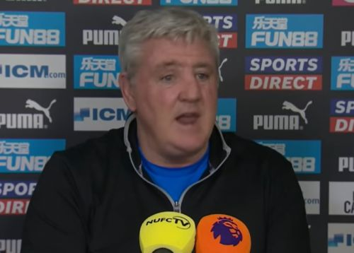 Furious Steve Bruce snaps at reporter and defends touchline chat with Ole Gunnar Solskjaer